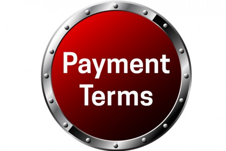 Payment Terms Sign for Kilews Web